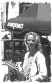 Endlich eine Capuccino-Bude gefunden! Los Angeles, April 1998